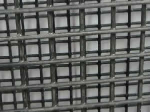 Mild Steel Welded Wire Mesh - Black Steel, Electro Galvanized or ...