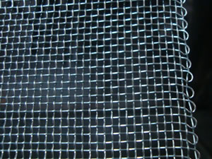 Mild Steel Wire Mesh, Electro Galvanizing Finishes